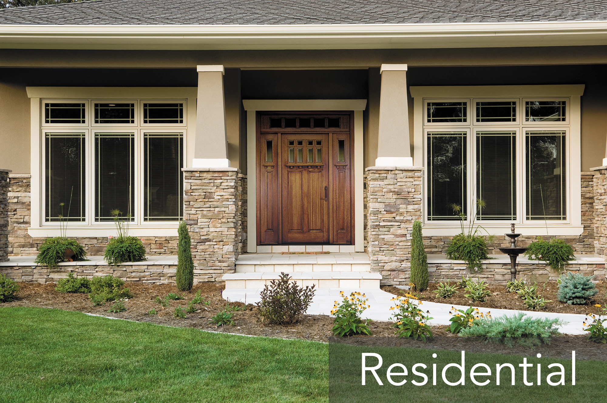 Residential installaton repair midwest window and for Exterior doors and windows
